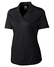 Cutter & Buck LCK05993 Women Drytec Birdseye Polo at GotApparel
