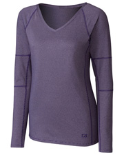 Cutter & Buck LCK08701  L/S Victory V-Neck at GotApparel
