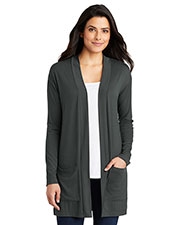 Port Authority LK5434 Women ® Ladies Concept Long Pocket Cardigan . at GotApparel