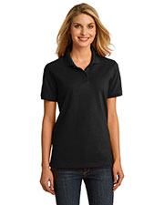 Port & Company LKP150 Women Ring Spun Pique Polo at GotApparel