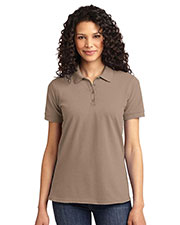 Port & Company LKP155 Women 50/50 Pique Polo at GotApparel