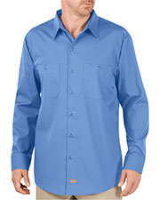 Dickies LL516T Unisex Tall Industrial WorkTech Long-Sleeve Ventilated Performance Shirt at GotApparel