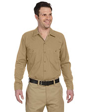 Dickies Workwear LL535 Men 4.25 Oz. Industrial Long-Sleeve Work Shirt at GotApparel