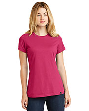Custom Embroidered New Era LNEA100 Ladies Heritage Blend Crew Tee at GotApparel