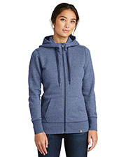 Custom Embroidered New Era LNEA502 Ladies 9 oz French Terry Full-Zip Hoodie at GotApparel