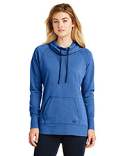 Custom Embroidered New Era LNEA510 Ladies 7 oz Tri-Blend Fleece Pullover Hoodie at GotApparel