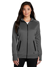Custom Embroidered New Era LNEA522 Ladies Venue Fleece Full-Zip Hoodie at GotApparel