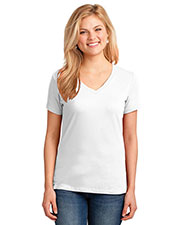 Port & Company LPC54V Women 54oz 100% Cotton V-Neck TShirt at GotApparel