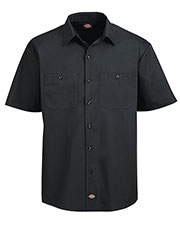 Dickies LS516 Adult 4.25 oz. WorkTech with AeroCool Mesh Premium Performance Work Shirt at GotApparel