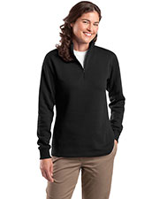 Sport-Tek LST253 Women 1/4Zip Sweatshirt at GotApparel