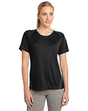 Sport-Tek LST351 Women Colorblock PosiCharge Competitor™ Tee at GotApparel