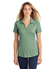 Sport-Tek LST405 Ladies 4.4 oz PosiCharge Tri-Blend Wicking Polo at GotApparel