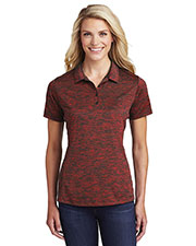 Sport-Tek® LST590 Women PosiCharge® Electric Heather Polo . Polo at GotApparel