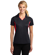 Sport-Tek LST655 Women Side Blocked Micropique Sport-Wick Polo at GotApparel
