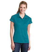 Sport-Tek® LST659 Women Contrast Stitch Micro Pique Sportwick Polo at GotApparel