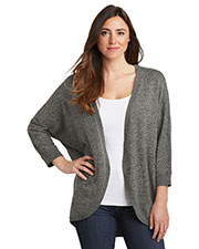 Port Authority LSW416 Women Marled Cocoon Sweater at GotApparel