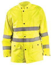 OccuNomix LUXTRJK Men Classic Breathable Rain Jacket at GotApparel