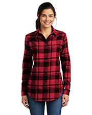 Port Authority LW668 Women Flannel Tunic       at GotApparel