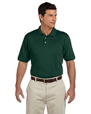 Harriton M100 Men Ringspun Cotton Pique Polo at GotApparel