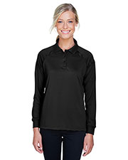 Harriton M211LW Women 6.6 oz Tactical Long-Sleeve Performance Polo at GotApparel