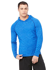 All Sport M3101 Men Performance Triblend Long-Sleeve Hooded Pullover at GotApparel