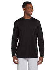 Harriton M320L Men 4.2 oz. Athletic Sport LongSleeve T-Shirt at GotApparel