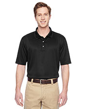 Harriton M345 Men Advantage IL Snap Placket Performance Polo at GotApparel