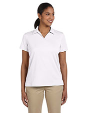 Harriton M353W Women's Double Mesh Sport Shirt at GotApparel