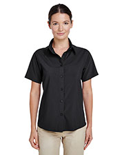 Harriton M610SW Women Paradise short sleeve Performance Shirt at GotApparel