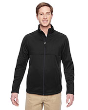 Harriton M745 Men Task Performance Fleece Full Zip Jacket at GotApparel