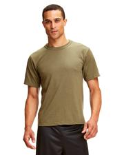 Soffe M805S Men Adult T-Shirt Dri-Release 85/15 Poly/Cotton at GotApparel
