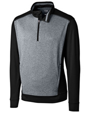 Cutter & Buck MCK09386 Men Replay Half-Zip at GotApparel