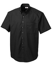 Cutter & Buck MCW01621 Men Short-Sleeve Epic Easy Care Fine Twill at GotApparel