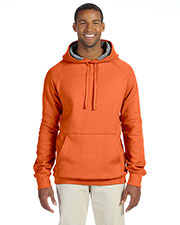 Hanes N270 Men 7.2 oz. Nano Pullover Hood at GotApparel