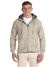 Hanes N280 Men 7.2 oz. Nano Full Zip Hood at GotApparel