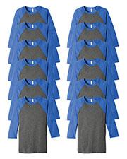 Next Level N3200 Men Premium Fitted Short-Sleeve V-Neck Tee 12-Pack at GotApparel