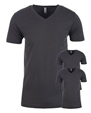 Next Level N3200 Men Premium Fitted Short-Sleeve V-Neck Tee 3-Pack at GotApparel