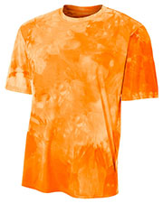 A4 N3295 Men Cloud Dye T-Shirt at GotApparel
