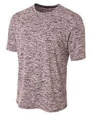 A4 N3296 Men Space Dye T-Shirt at GotApparel