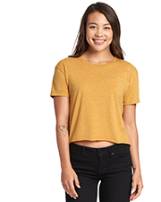 Next Level N5080 Ladies 3.5 oz Festival Cali Crop T-Shirt at GotApparel