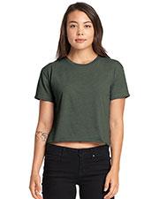 Next Level N5080 Ladies 3.5 oz Festival Cali Crop T-Shirt at GotApparel