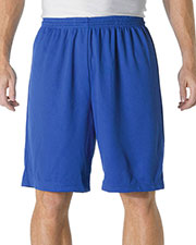 A4 N5281 Men's Drop Ship Cooling Performance Power Mesh Practice Shorts at GotApparel