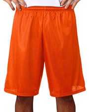 "A4 N5296 Men's Lined 9"" Inseam Tricot Mesh Shorts at GotApparel"