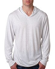 Next Level 6021 Unisex Triblend Long-Sleeve Hoodie at GotApparel