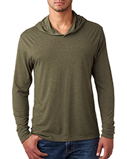 Next Level N6021 Men Triblend Long-Sleeve Hoody at GotApparel