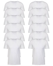 Next Level N6210 Men Premium Fitted Cvc Crew Tee 12-Pack at GotApparel