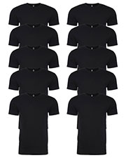 Next Level N6210 Men Premium Fitted Cvc Crew Tee 10-Pack at GotApparel