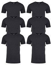 Next Level N6210 Men Premium Fitted Cvc Crew Tee 6-Pack at GotApparel