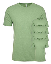 Next Level N6210 Men Premium Fitted Cvc Crew Tee 5-Pack at GotApparel