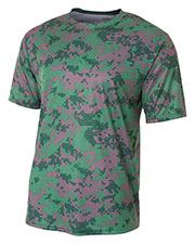A4 NB3256 Boys Camo Performance Tee at GotApparel